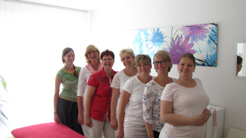 Das Team der Physiotherapie Stettin 12623 Berlin Mahlsdorf